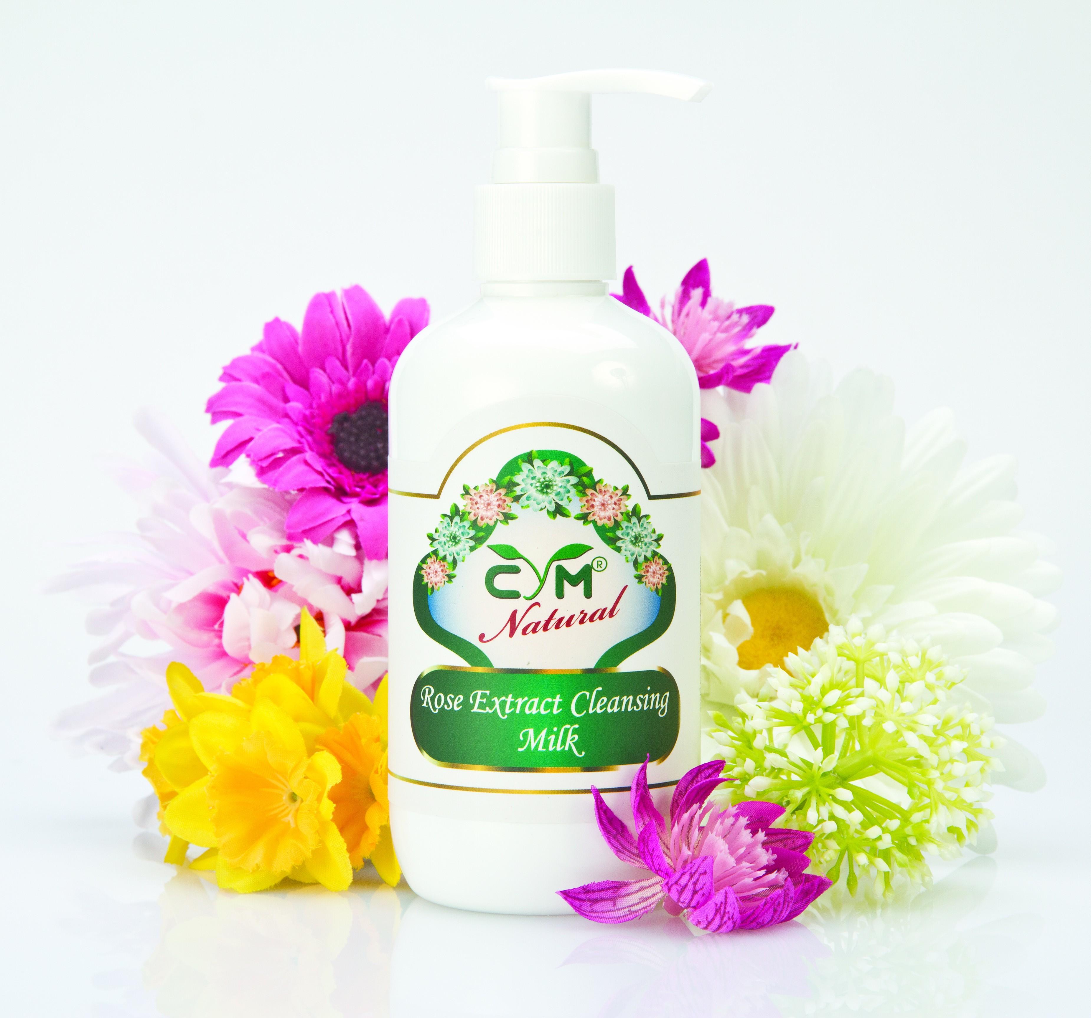 玫瑰精華潔面奶 Rose Extract Cleansing Milk - 500 ml - AMC-818