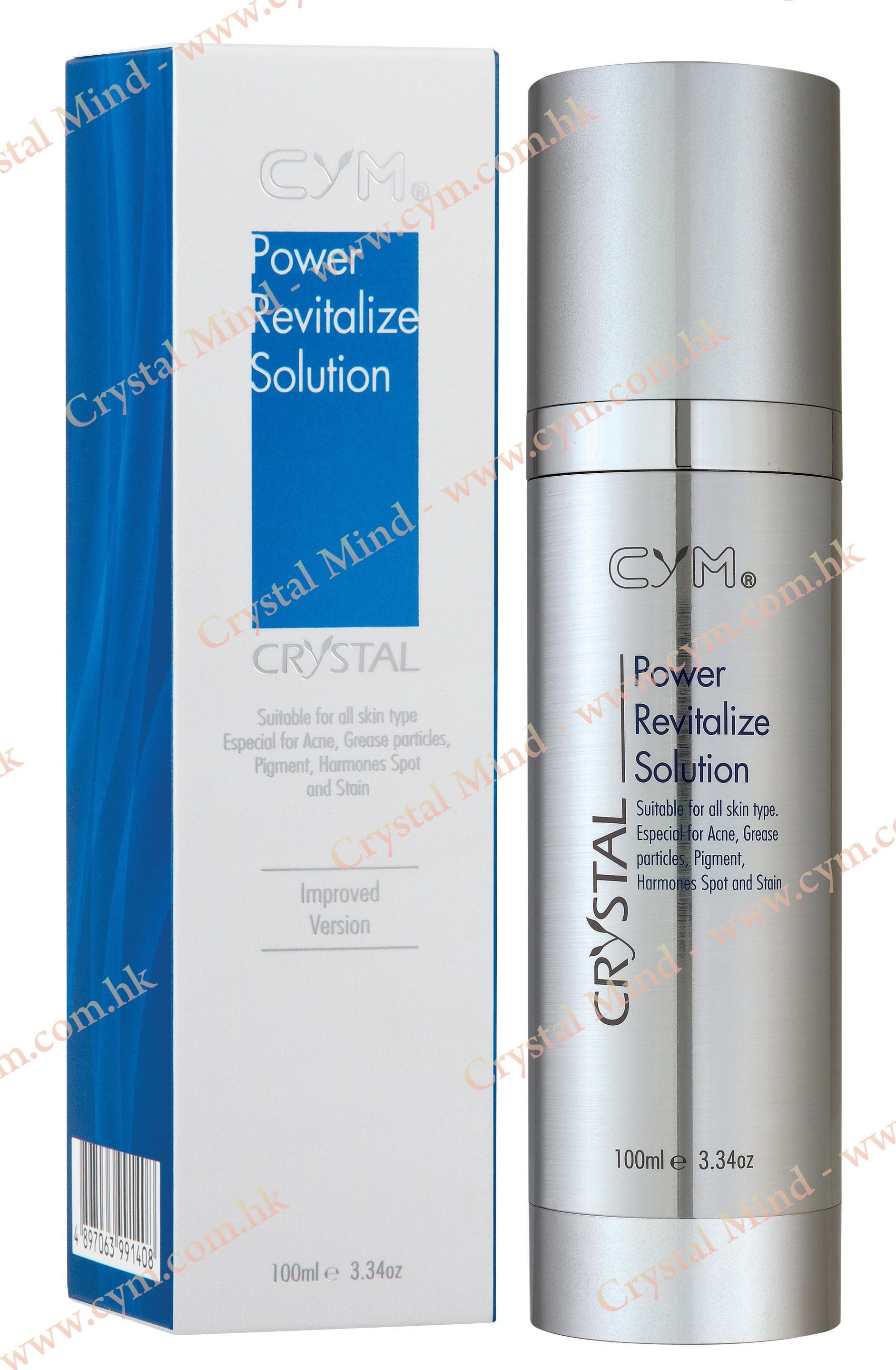 增白催化液 - 改良版  Power Revitalize Solution - 100 ML - 888.01-AD