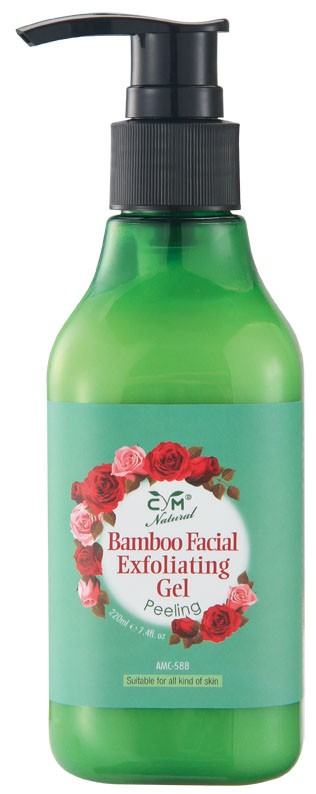 Bamboo Facial Exfoliating Gel   竹纖維面部去角質啫喱 - 250 ml #AMC-588